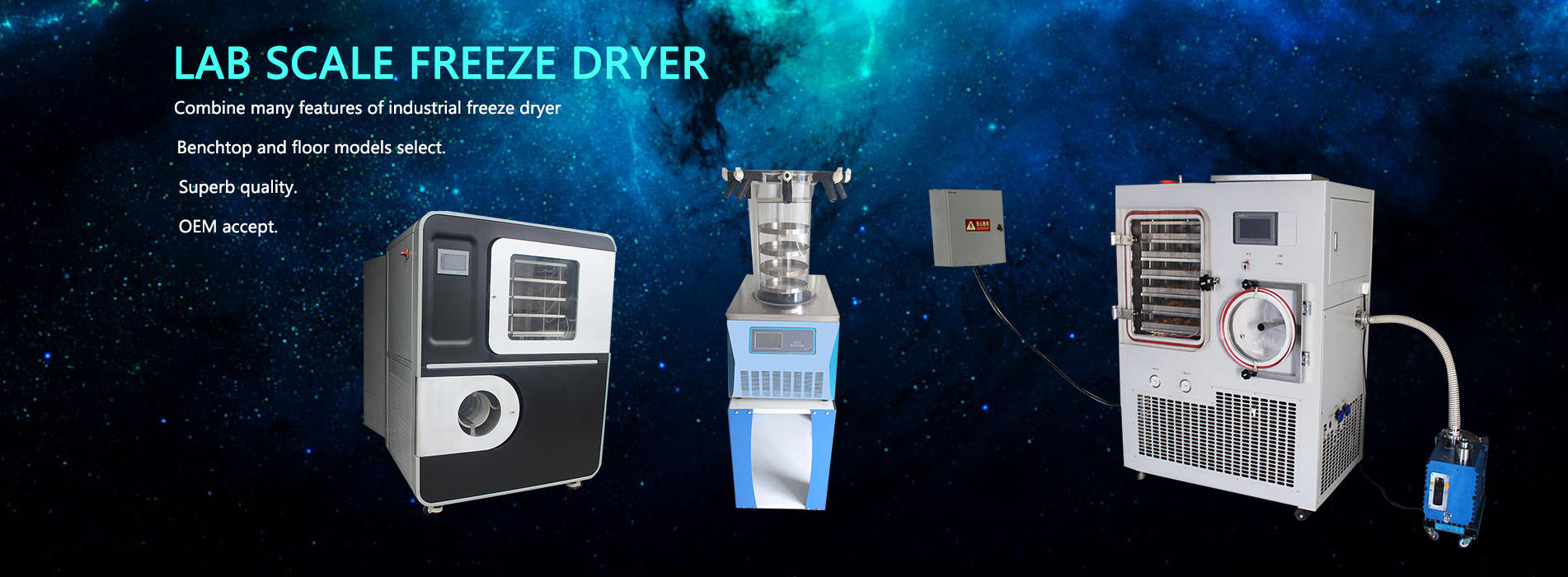 Freeze Dryer Lyophilizer Manufacturer Supplier in china