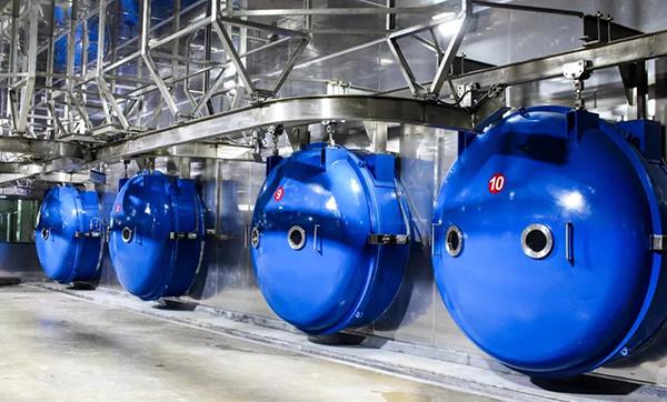 FD-120R industrial bulk production vacuum freeze Dryer